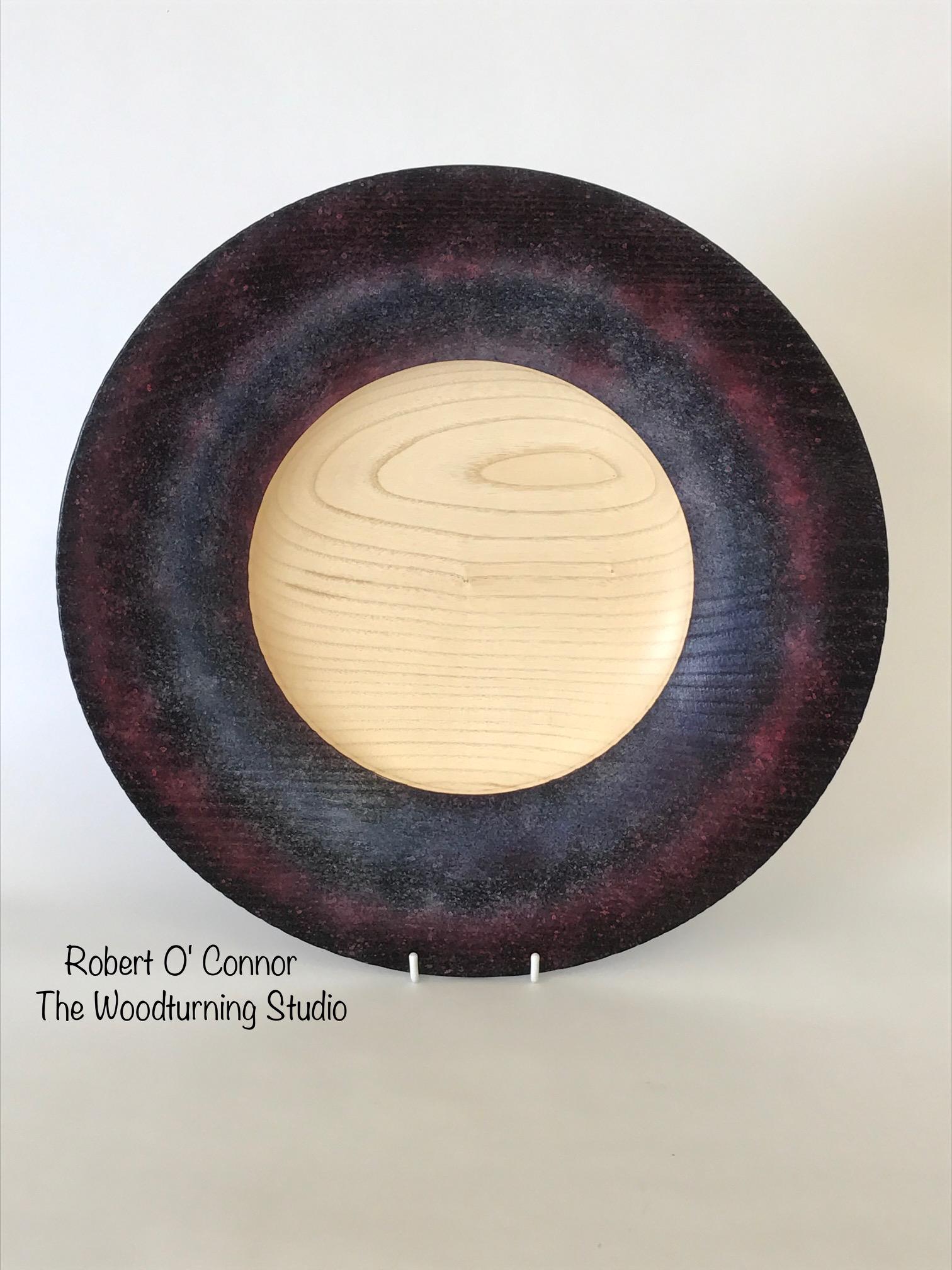 Coloured platter