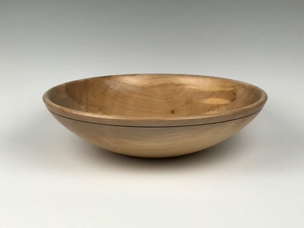 Handcrafted Spalted Irish Sycamore bowl