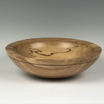 Stylish Spalted Beech Bowl